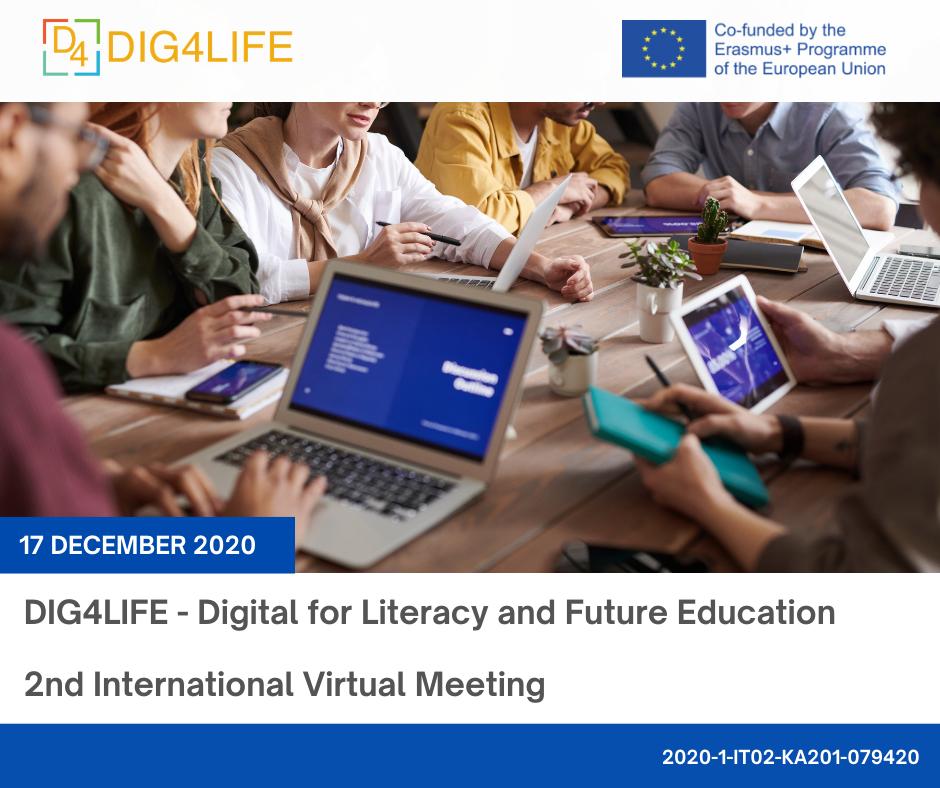 DIG4LIFE – 2st International Virtual Meeting