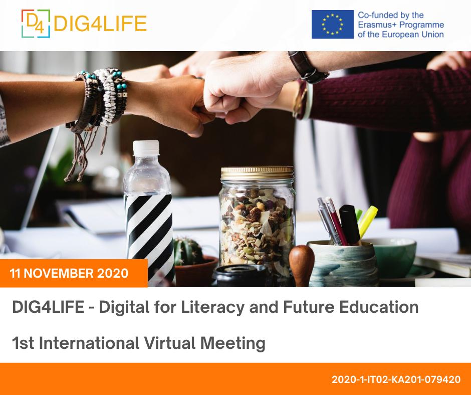 DIG4LIFE – 1st International Virtual Meeting